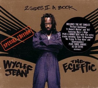 Wyclef Jean - The Ecleftic (2 Sides II A Book) (CD)