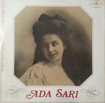 Ada Sari - Sławni Polscy Śpiewacy Famous Polish Singers Vol. 4 (LP)