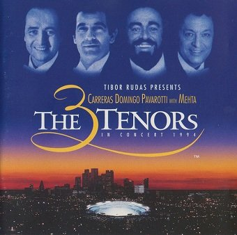 Carreras,Domingo, Pavarotti With Mehta - The 3 Tenors In Concert 1994 (CD)