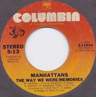 Manhattans - The Way We Were / Memories // New York City (7)