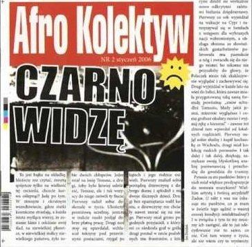 Afro Kolektyw - Czarno Widzę (CD)