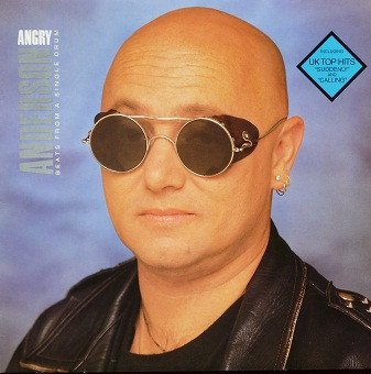 Angry Anderson‎ - Beats From A Single Drum (LP)