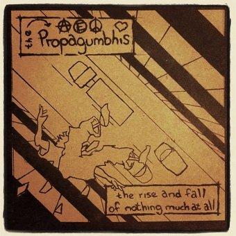 The Propagumbhis - The Rise And Fall Of Nothing Much At All (CD)