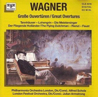 Wagner - Große Ouvertüren (CD)