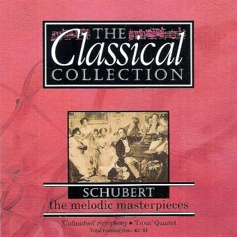 Schubert - The Melodic Masterpieces (CD)