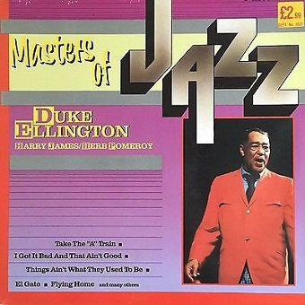 Duke Ellington, Harry James, Herb Pomeroy - Masters Of Jazz (2LP)