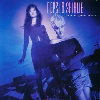 Pepsi & Shirlie - All Right Now (LP)