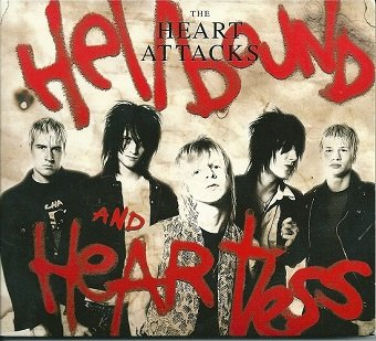 The Heart Attacks - Hellbound And Heartless (CD)