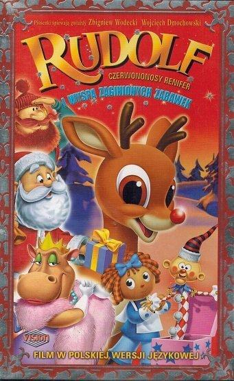 Rudolf czerwononosy renifer i wyspa zaginionych zabawek (VHS)