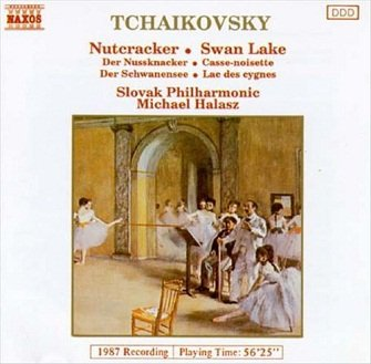 Slovak Philharmonic, Michael Halasz - Tchaikovsky: Nutcracker / Swan Lake (CD)
