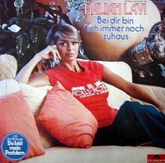Daliah Lavi - Bei Dir Bin Ich Immer Noch Zuhaus (LP)