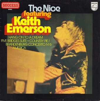 The Nice Featuring Keith Emerson - The Nice (LP)
