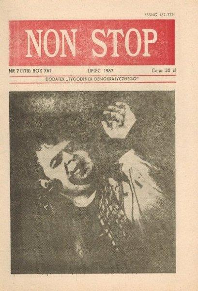 Non Stop 7 (178) Lipiec 1987 Dawid Tomasz