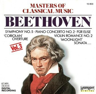 Beethoven - Masters Of Classical Music, Vol.3: Beethoven (CD)