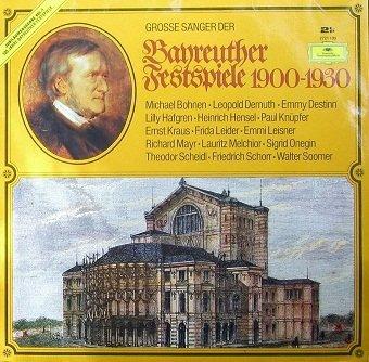Grosse Sanger Der Bayeuther Festspiele 1900-1930 (2LP)