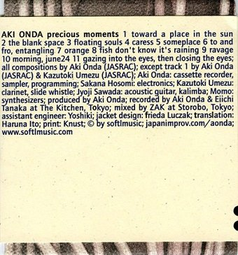 Aki Onda - Precious Moments (CD)