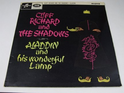 Cliff Richard And The Shadows - Aladdin And His Wonderful Lamp (LP)