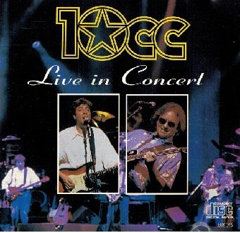 10cc - Live In Concert (CD)