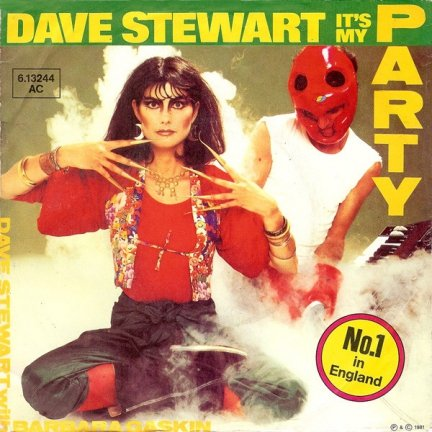 Dave Stewart With Barbara Gaskin - It's My Party (7)