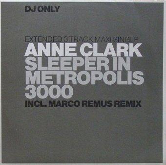Anne Clark - Sleeper In Metropolis 3000 (12'')