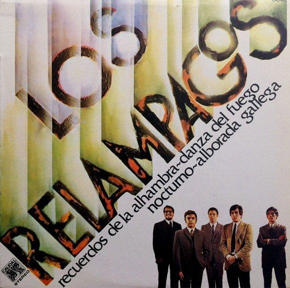 Los Relampagos - Recuerdos De La Alhambra / Danza Del Fuego / Nocturno / Alborada Gallega (LP)