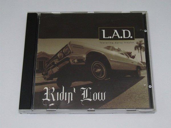 L.A.D. Ft. Darvy Traylor - Ridin' Low (Maxi-CD)