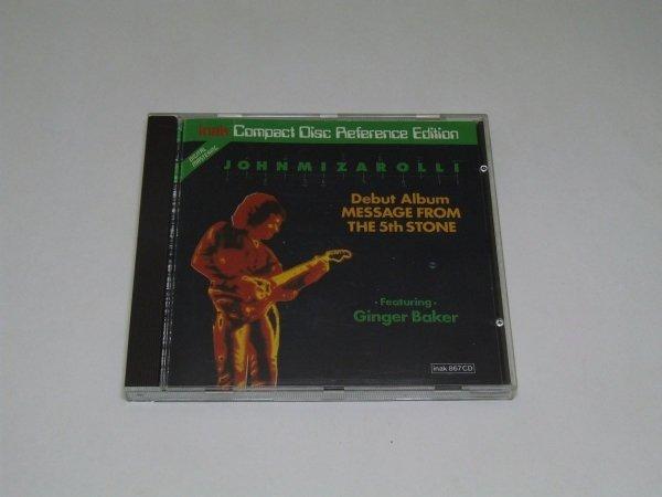 John Mizarolli - Message From The 5th Stone (CD)