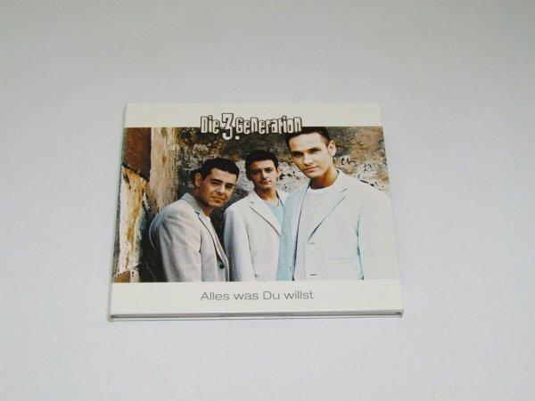Die 3. Generation - Alles Was Du Willst (CD)