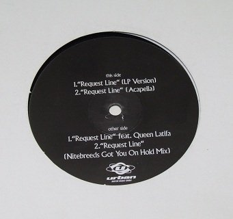 Zhané - Request Line (12'')