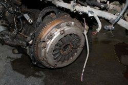 Koło zamachowe sprzęgło Toyota Rav4 2003 2.0D4D 1CD-FTV