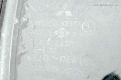 SZYBA TRÓJKĄTNA TYŁ PRAWA MITSUBISHI LANCER  CS0 2004 SEDAN