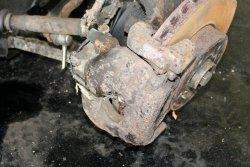 Zacisk hamulcowy przód lewy Seat Alhambra I 2000-2010 1.9TDI