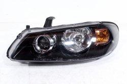 Reflektor lewy Nissan Almera N16 2003-2006 Lift (czarny)