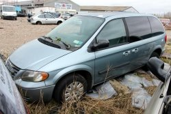 Drzwi tył lewe Chrysler Voyager GY Town & Country 2004