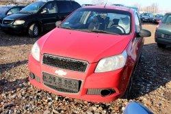 Reflektor lewy Chevrolet Aveo T250 2009 3D