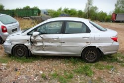 Podnośnik szyby przód lewy Honda City IV Lift 2006 Sedan