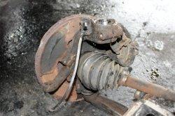 Zwrotnica przód lewa Seat Alhambra I 2000-2010 1.9TDI