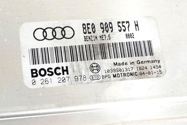 Komputer silnika stacyjka - Audi - A6 - zdjęcie 9