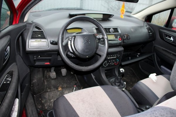 Zderzak tył Citroen C4 2006 Hatchback 3-drzwi