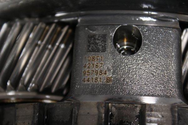 Zespół przekładni planetarnej tył z wałem wyjściowym skrzyni biegów 8HP55 NVF Audi A7 C7 2012 3.0TDI