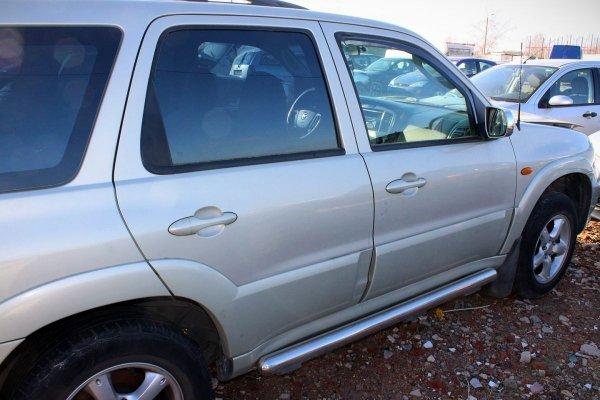 Drzwi tył lewe Mazda Tribute EP Lift 2004 (Kod lakieru: 28D)