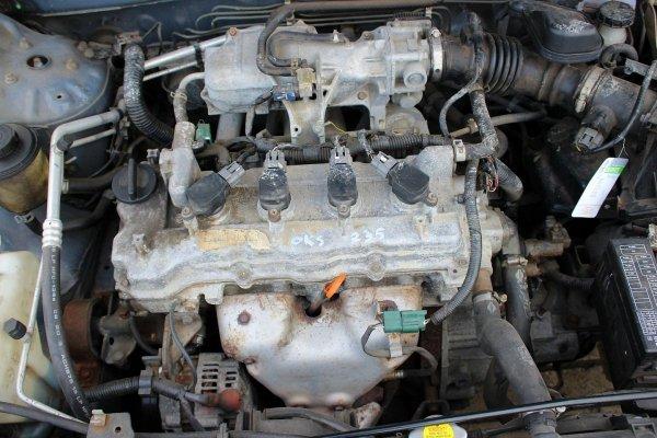 Klapa bagażnika Nissan Almera N16 2003 5-drzwi (Kod lakieru: BW6)