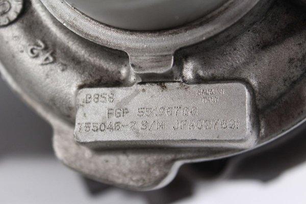 Turbosprężarka Opel Vectra C 2004 1.9CDTI Z19DTH