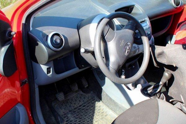 Drzwi przód przednie lewe Toyota Aygo 2005 Hatchback 5-drzwi (kod lakieru: 3P0)