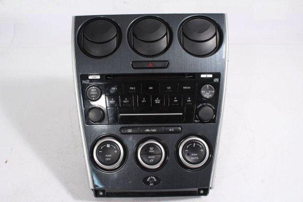 Radio panel sterowania nawiewem Mazda 6 GG GY 2005-2007