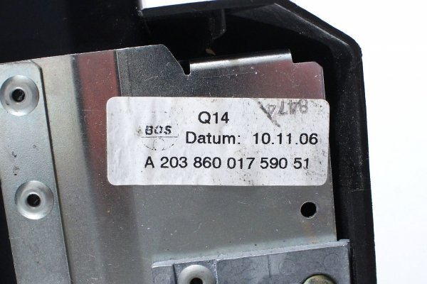 Roleta bagażnika - Mercedes - C-klasa - zdjęcie 10