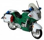 MOTOR BMW R1100 RT POLICE MOTOCYKL Welly 1:18 ŚCIGACZ