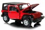 JEEP WRANGLER RUBICON Auto METALOWY MODEL Welly 1:24
