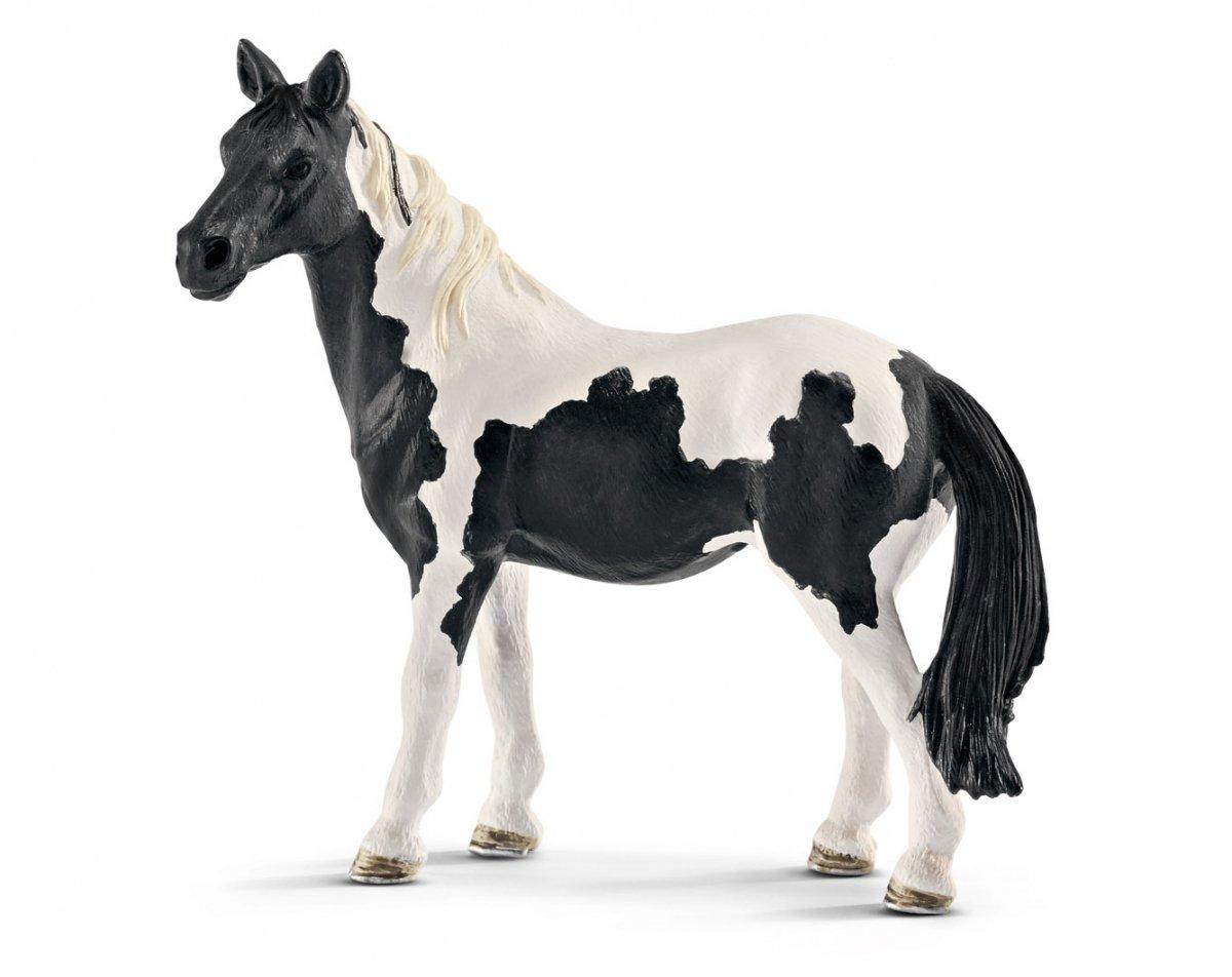 schleich ko klacz pinto konie figurka 13795 konie schleich figurki zabawki. Black Bedroom Furniture Sets. Home Design Ideas