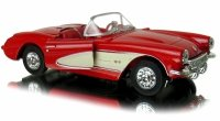 1957 CHEVROLET CORVETTE Welly METALOWY MODEL 1:34